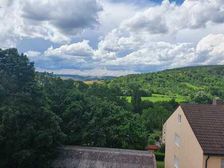 Erstbezug nach Sanierung: attraktive 2,5-Zimmer-Wohnung mit EBK und Balkon in Weikersheim