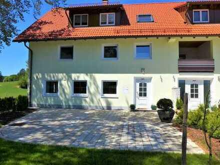 Idyllisch gelegen: große, renovierte Maisonettewohnung zwischen Leutkirch und Kißlegg zu vermieten