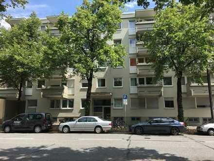 2,5-Zimmer-Wohnung mit 2xBalkon in Schwabing-West