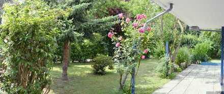 Sehr ruhige Garten Wohnung