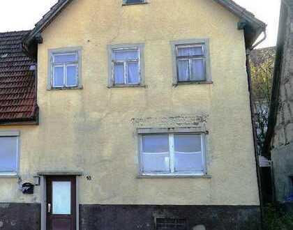 Abrissobjekt/Doppelhaushälfte-Baugrundstück in 72364 Obernheim