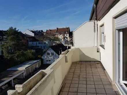 1-Zimmer-Wohnung mit Einbauküche und Balkon in Nuitsstraße, Karlsruhe