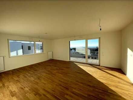 Ideal für die Familie: 4-Zimmer-Wohnung mit riesigem Balkon und Fernsicht