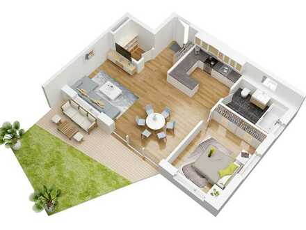Haus Urban Alps -Neubau- Gartengeschosswohnung in besonderer Wohnanlage ** Förderung durch KfW 40+**