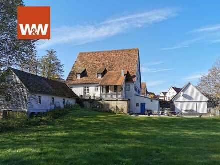 Herrlich gelegene und sanierte Mühle im wunderschönen Bühlertal -Denkmalschutz-