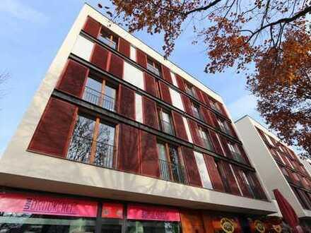 Uni- und zentrumsnah: 3-Raumwohnung mit Dachterrasse, EBK und TG-Stellplatz in der Südvorstadt
