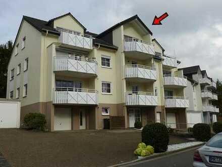 Urgemütliche Dachgeschosswohnung mit großem Balkon