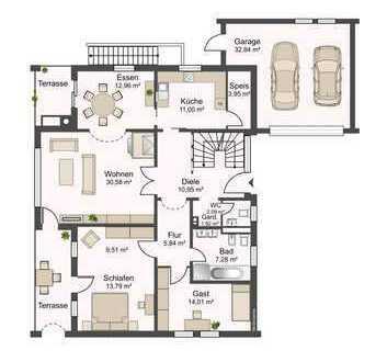 Zwei schöne sonnige 4-Zimmer-Wohnungen in ruhiger Lage