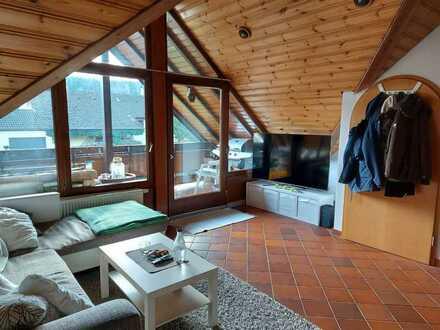 Helle großzügige Dachgeschosswohnung in Straubenhardt Schwann