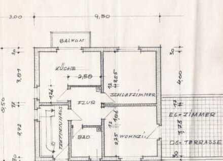 hochwertig komplett möblierte 3 1/2 Zimmer Wohnung mit großer Terrasse