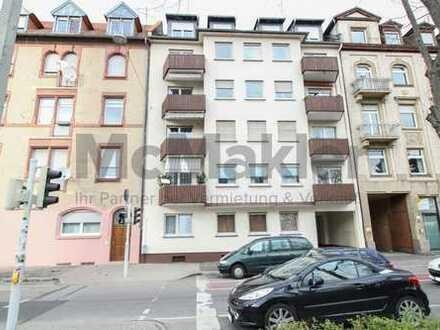 Kapitalanlage in Mannheim: 2-Zi.-Whg. mit Balkon und Loggia unweit des Zentrums