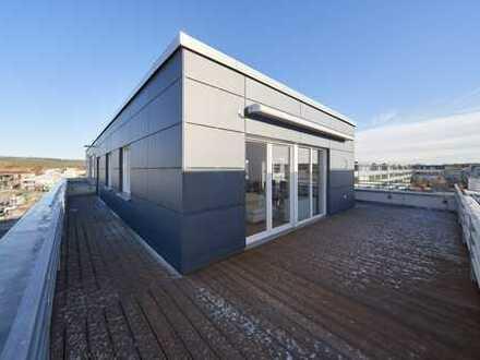 Röthelheimpark *** 3-Zimmer Penthauswohnung über den Dächern (moderne Einbauküche, TG) von Erlangen
