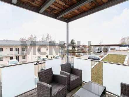 Neuwertig und zentral: Moderne 3-Zi.-Wohnung mit Balkon und Fußbodenheizung in Eggenfelden