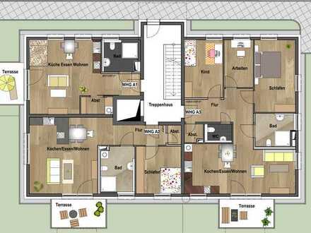 Erdgeschoss - Wohnung A01