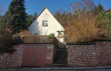 Sehr schöner Bauplatz mit Abbruchhaus in Kaiserslautern-Erlenbach