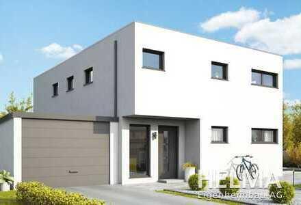 Unser Haus Alicante auf dem wunderschönen Grundstück in Harleshausen!