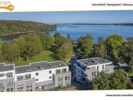 Traumhafte 4.Zi.-Penthousewohnung direkt am Wasser! Fahrstuhl, zwei Balkone, TG-Stellplatz, Park!