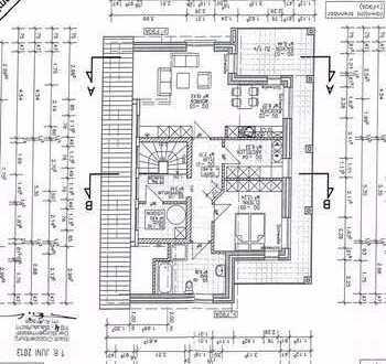Neuwertige 2-Zimmer-Penthouse-Wohnung mit Balkon in Cloppenburg
