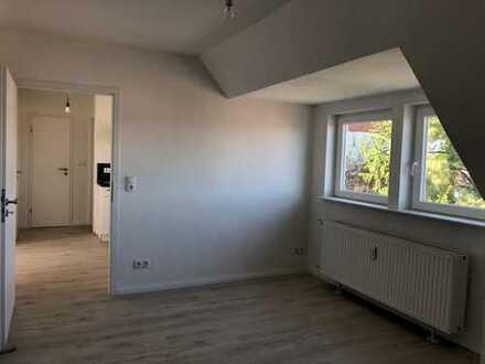 WG Zimmer über den Dächern Bremens