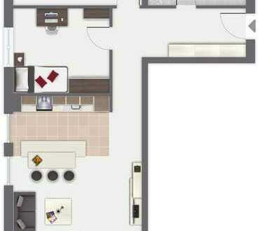 Wunderschöne Süd-West Wohnung 8 im 2. OG