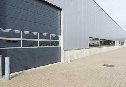 Ca. 1.600 qm Neubau Lager / Logistik | ebenerdig | 6,50 m UKB !