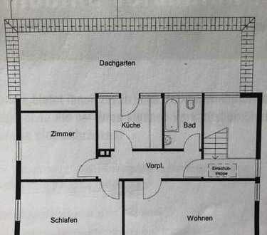 Kernen Stetten 3ZKB Dachterrasse DG
