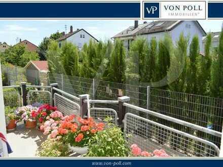 Ladenburg: Sehr schöne 3 Zimmer Wohnung + Balkon + 2 TG