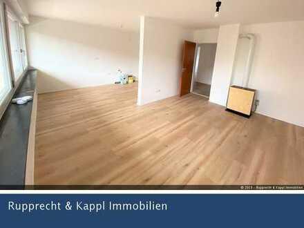 Frisch renovierte 3-Zimmer-Wohnung mit neuem Bad und Balkon in Wiesau