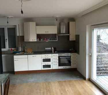 Moderne 3 - Zimmerwohnung in Reiterswiesen mit neuer Einbauküche und Balkon