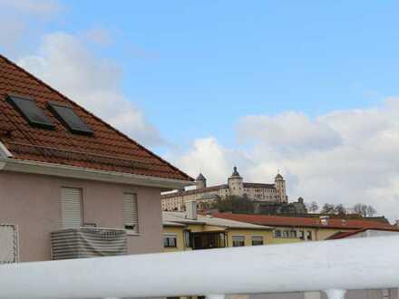 Möblierte 1-Zimmer Wohnung in zentraler Lage in Würzburg-Sanderau