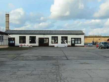 Schuster aus Preussen - Wandlitz / Zerpenschleuse - ca. 200 m² große Lagerhalle / Werkstatt mit B...
