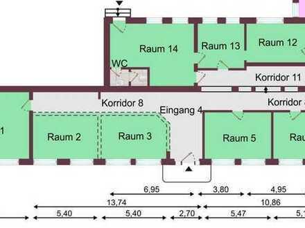 """Repräsentative, sehr gepflegte ebenerdige Büro-/Praxiseinheit in AC-City, Jülicherstr. (266m"""")"""
