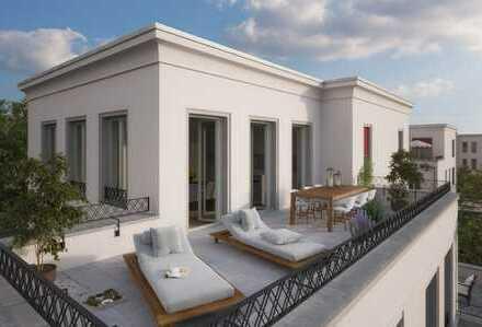NEU & NATUR: wunderschöne 3-Zi-Wohnung mit Terrasse am Jungfernsee