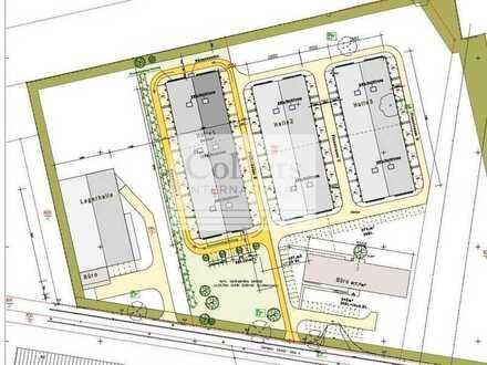 NEUBAUPROJEKT IN LEIPZIG | ca. 500 - 4.200 m² Lagerfläche | Fertigstellung 11 2021