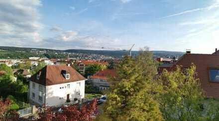 Wunderschöne Maissonette-Wohnung am Wartberg mit Blick über Pforzheim, 104 m², 3,5 Zimmer