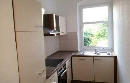 ~~ helle neu sanierte Wohnung mit Küchenzeile und PKW Stellplatz ~~