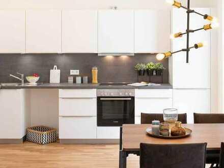 Schön geschnittene 3-Zimmer-Wohnung mit 2 Bädern, EBK und West-Balkon in Tübingen