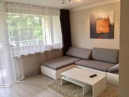 Modernes,komplett möbliertes Apartment mit Balkon und Stellplatz