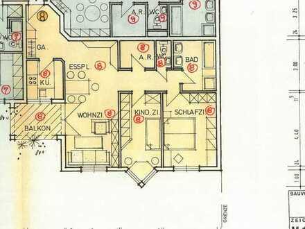 3,5-Raum-Wohnung mit Balkon in Kernen i.R.-Rommelshausen