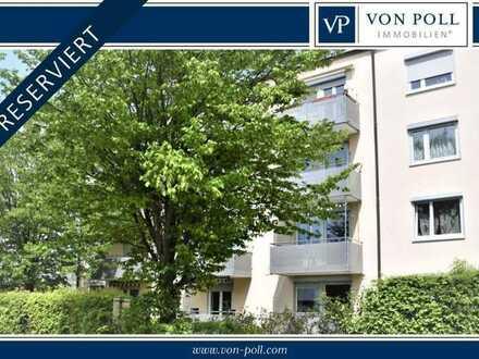 Sonnige und großzügige 3-Zimmer-Wohnung mit Balkon in Schwabach