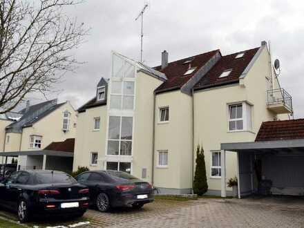 Gepflegte 4-Zimmer-Etagenwohnung in bester Lage in Thannhausen