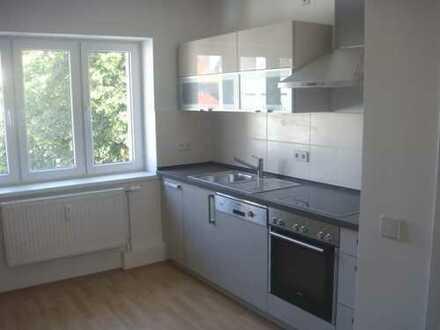 *Für Liebhaber* 3 Zimmer Maisonettwohnung nahe der Wertach, incl. EBK und Garage;