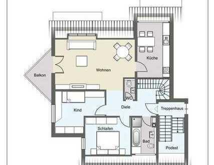 Vollständig renovierte 6-Zimmer-Wohnung mit Balkon und EBK in Heiligenstadt