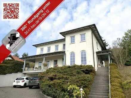 Dolce Vita in der Nordpfalz - Toskanische Villa mit atemberaubender Fernsicht