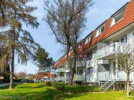 DG-Wohnung mit Loggia, idyllisch gelegen Nähe Schlänitzsee!