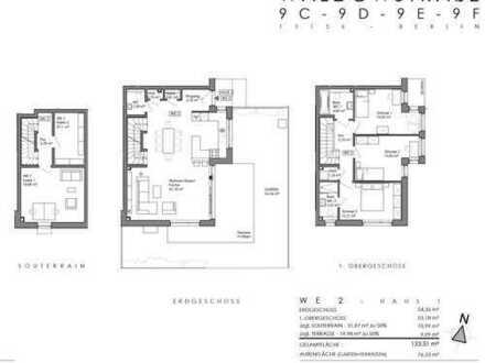 Neubau-4 Zimmer-Maisonette mit Privatgarten