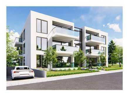 Raum für gehobene Ansprüche: 2-Zimmer Wohnung im EG, barrierefrei mit Gartenanteil
