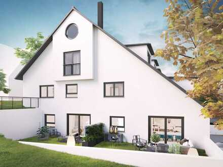 Neubau 2 ZKB Galerie-Wohnung in Biburg bei Augsburg