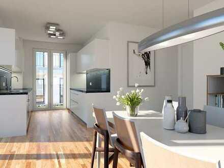 Elegantes Design in provisionsfreier Eigentumswohnung mit Terrasse und eigenem Gartenanteil