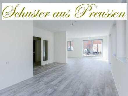 Schuster aus Preussen - Exklusives Reihenendhaus mit 4 Zimmern, Terrasse, Fussbodenheizung, Smart...